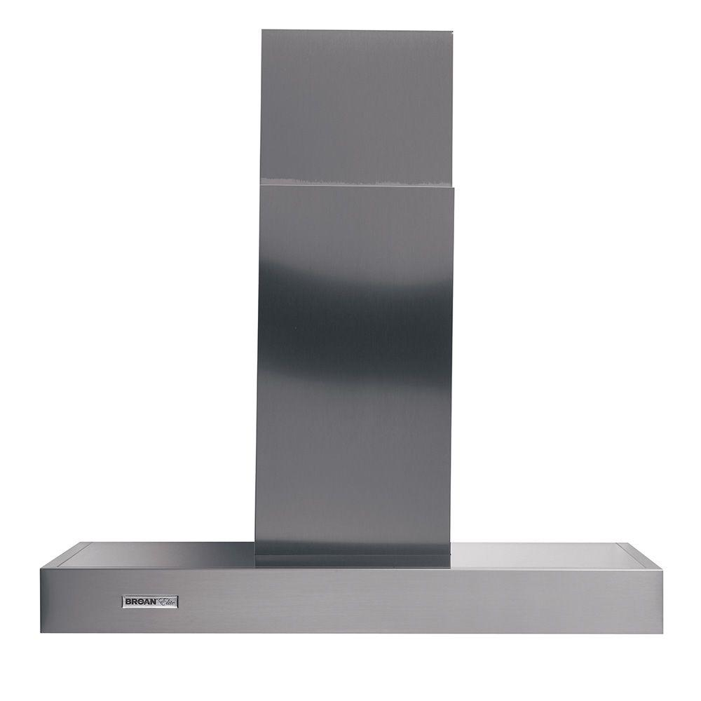 Broan Chimney Hoods ~ Broan elite rm in convertible chimney range hood