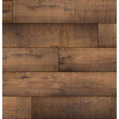 Barberton Oak 12 mm Thick x 7-9/16 in. Wide x 50-5/8 in. Length Water Resistant Laminate Flooring (15.95 sq. ft./case)