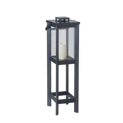 Medium Size Outdoor Square Arlen Floor Lantern