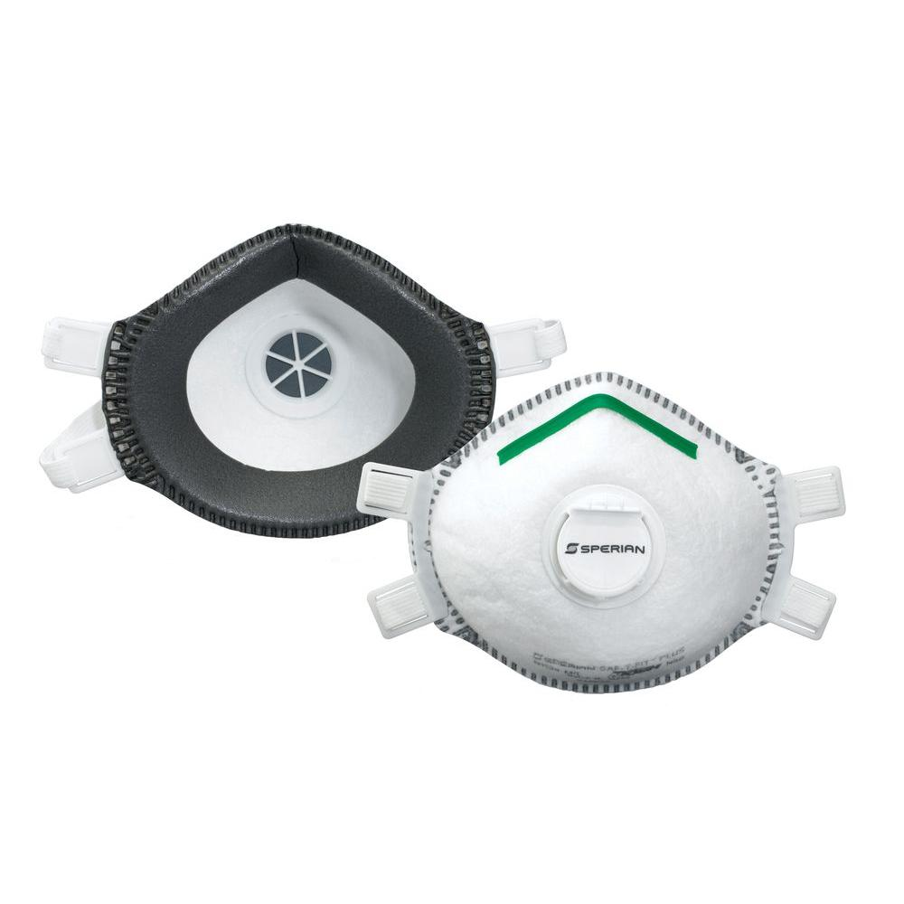 Sperian Honeywell P100 Deluxe Disposable Respirator for Lead Abatement