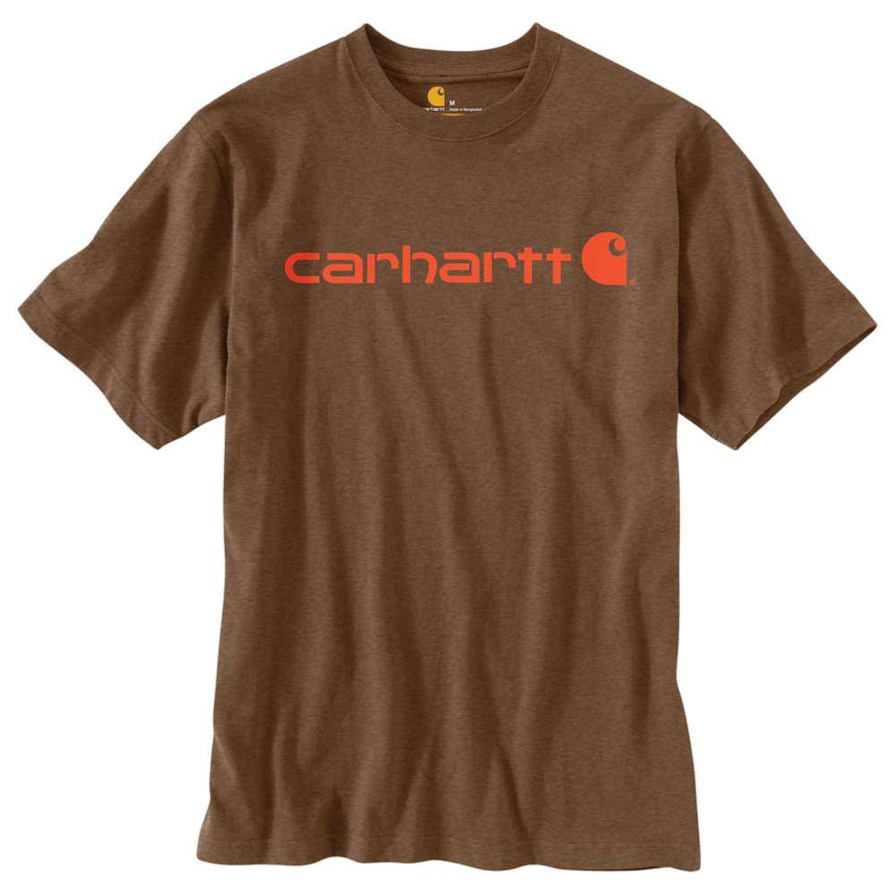 021c516a Carhartt Men's Tall XXX Large Barrel Heather Cotton/Polyester Short-Sleeve  T-Shirt