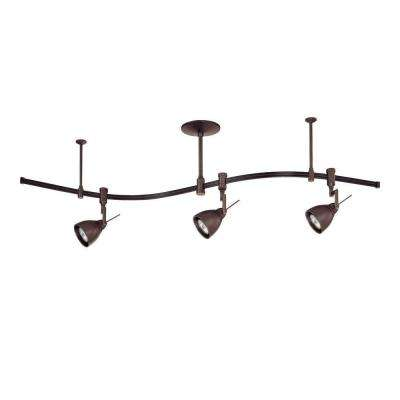 8 track lighting lighting the home depot cassiopeia 3 light oil rubbed bronze track lighting kit aloadofball Choice Image