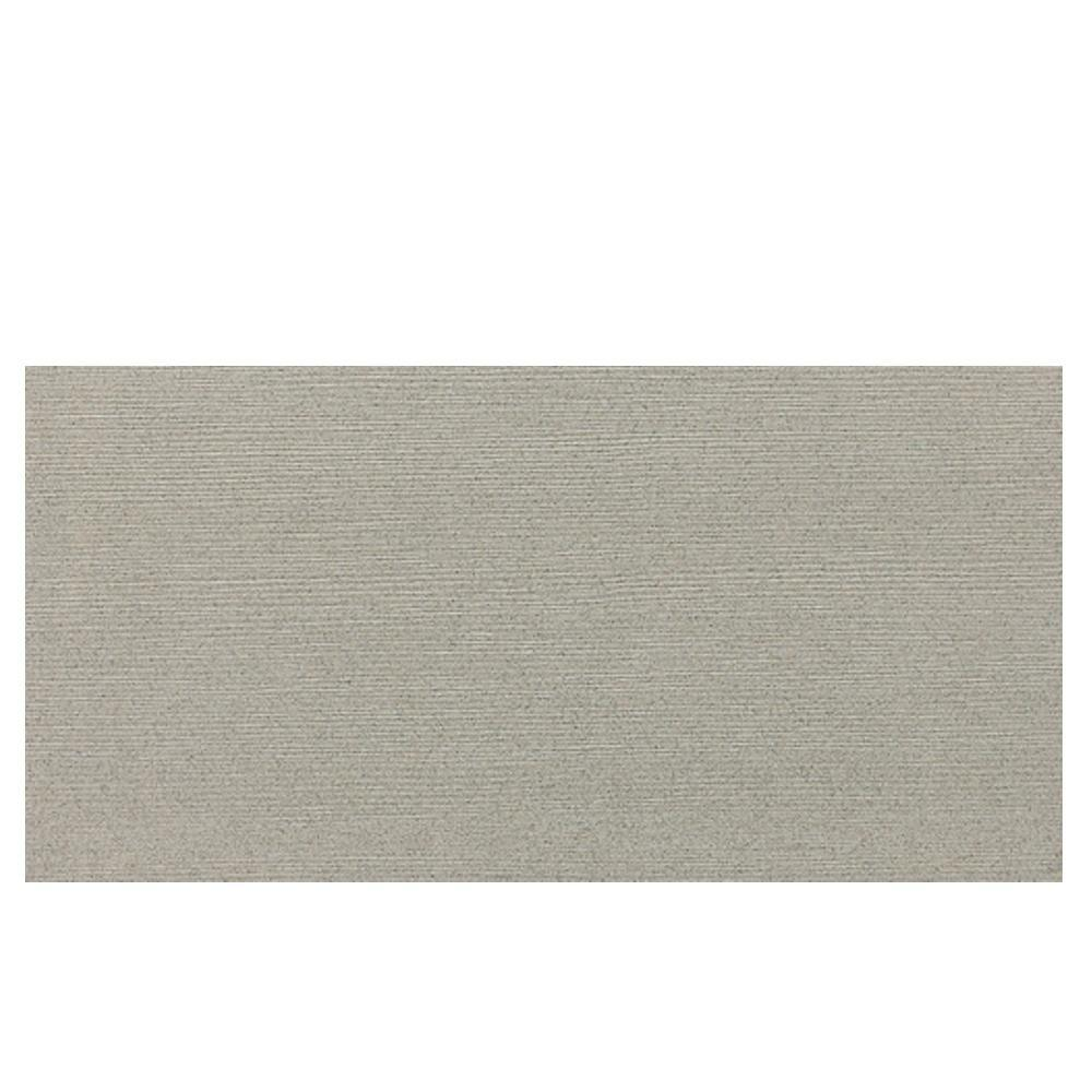 Daltile Identity Cashmere Gray Fabric 12 in. x 24 in. Polished Porcelain Floor and Wall Tile (11.62 sq. ft. / case)-DISCONTINUED
