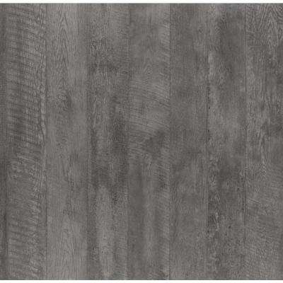 5 ft. x 12 ft. Laminate Sheet in Charred Formwood with Natural Grain