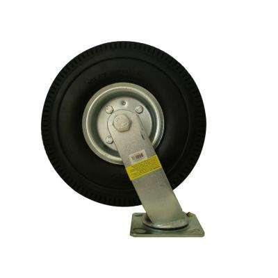 10 in. Swivel Flat Free Caster Wheel