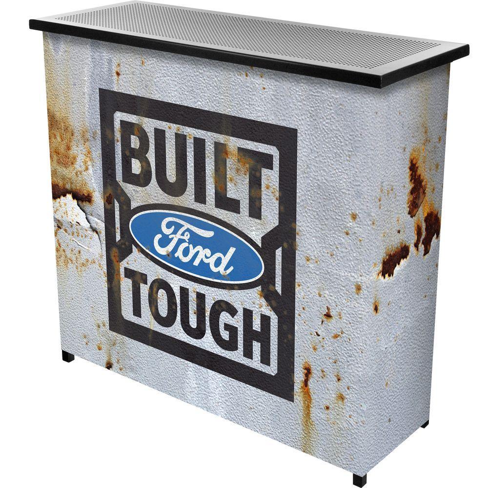 Ford Built Tough 2 Shelf Gray Bar With Case