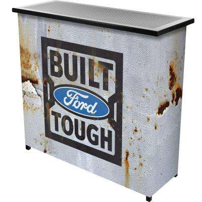 Built Tough 2-Shelf Gray Bar with Case