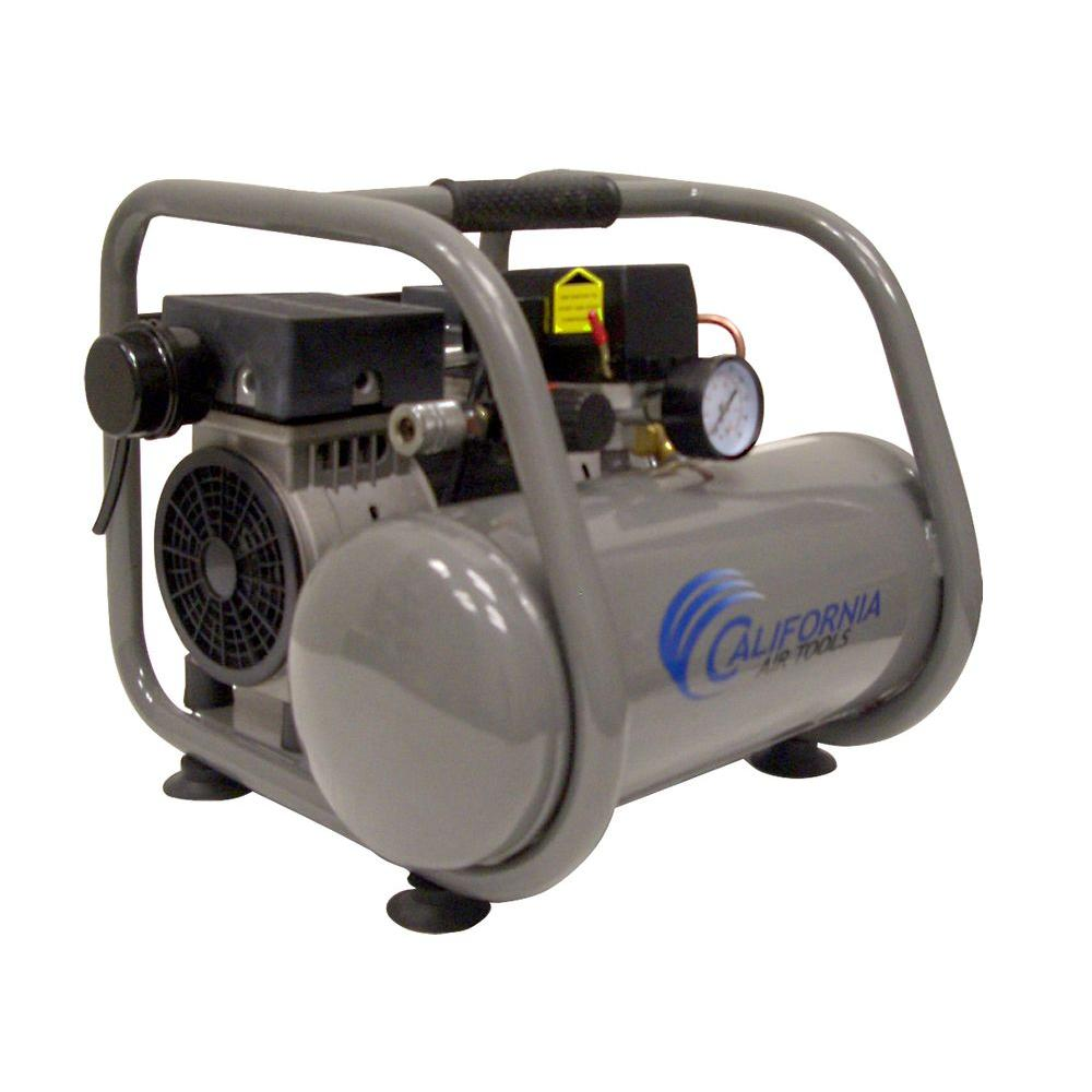 California Air Tools 2.5-Gal. 1 HP Ultra Quiet and Oil-Free Air Compressor-DISCONTINUED