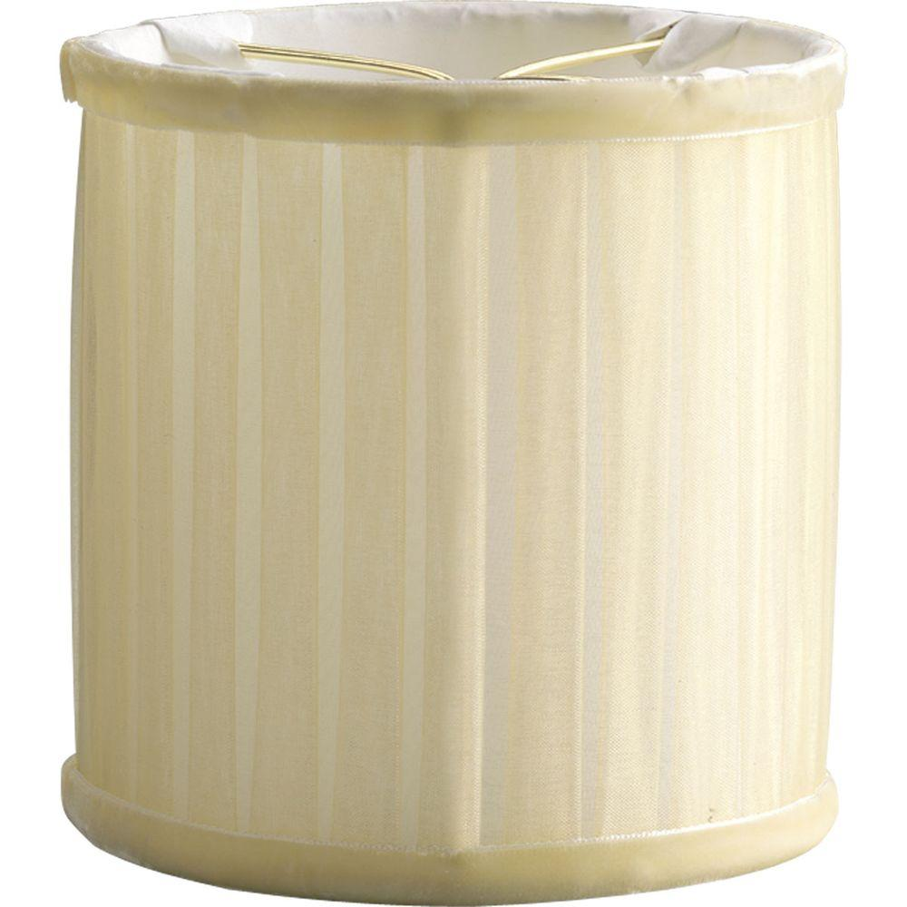 Chanelle Collection Creme Chiffon Wall Sconce Accessory Shade