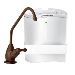 Pelican Water Undercounter Drinking Water Filtration and Purification System with Oil Rubbed Bronze Faucet Dispenser by Pelican Water