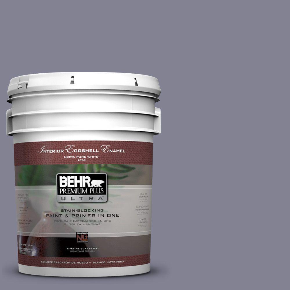 BEHR Premium Plus Ultra 5-gal. #PPU16-16 Metro Eggshell Enamel Interior Paint