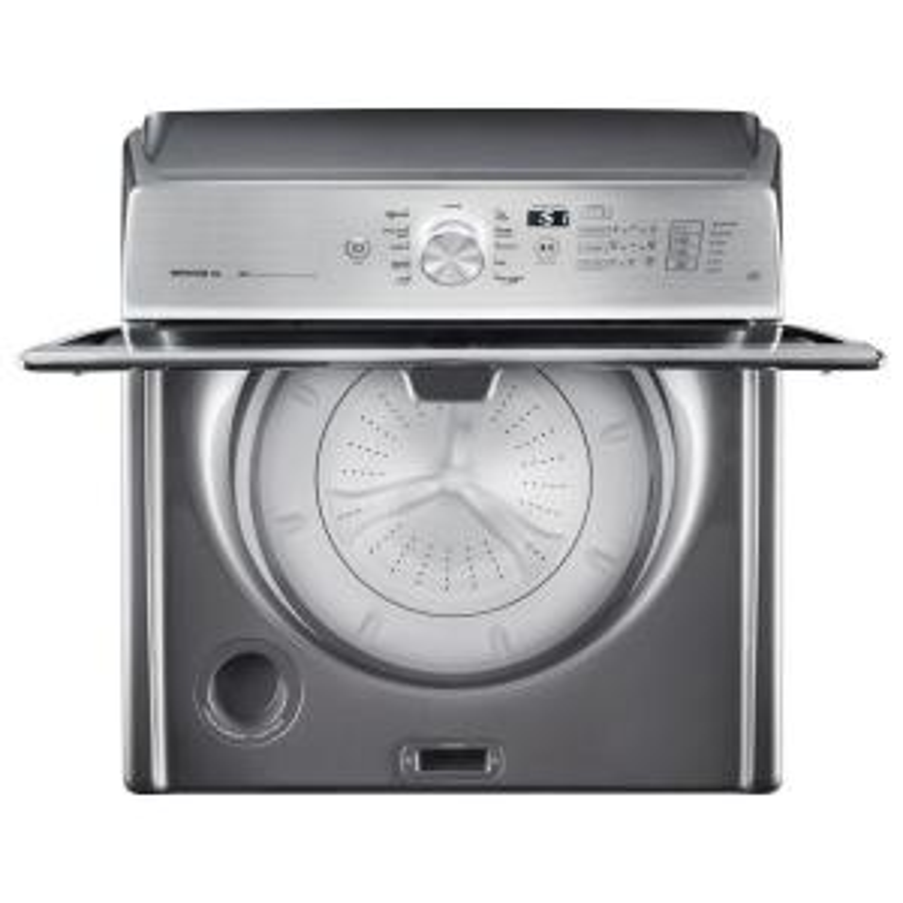 8fe4e5aa3c9 Store SO SKU  1002629872. +11. Maytag 5.3 cu. ft. High-Efficiency Metallic  Slate Top Load Washer ...