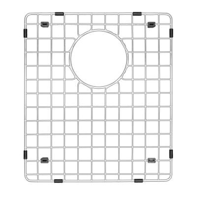 14 in. x 16-1/2 in. Stainless Steel Bottom Grid