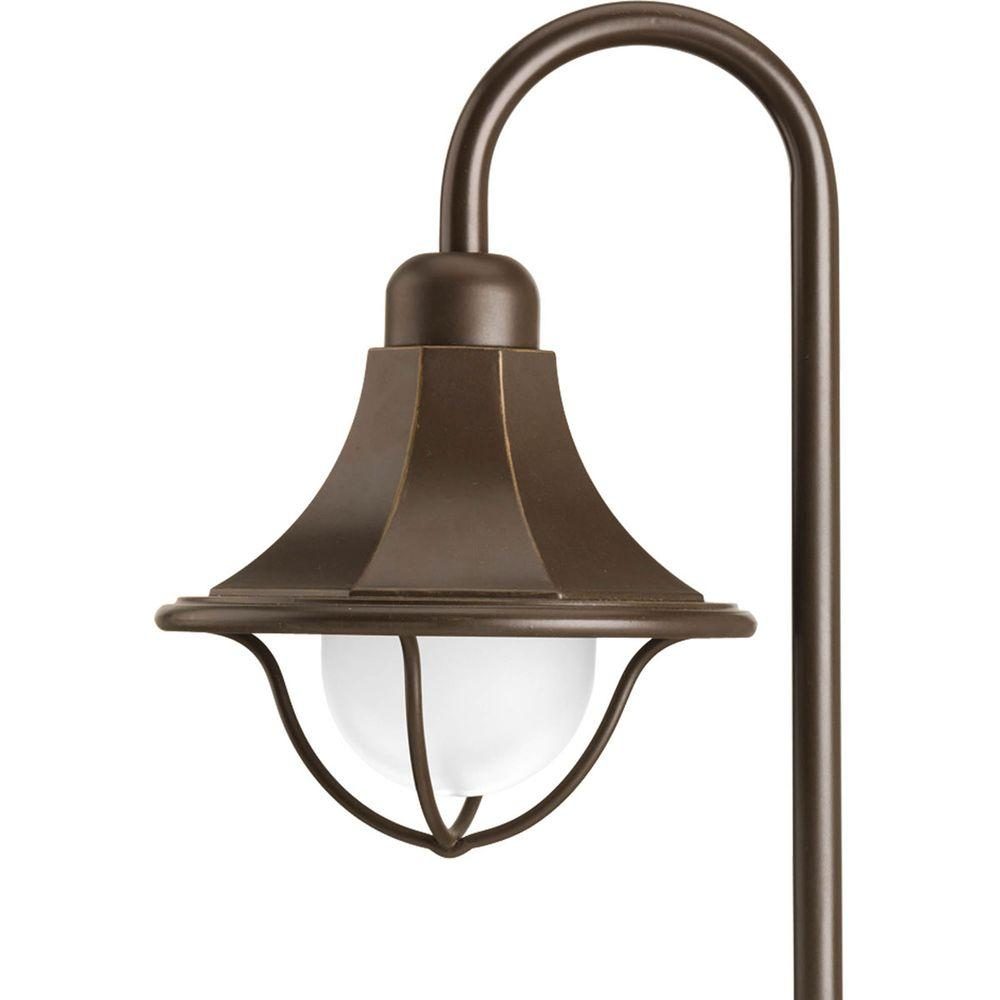 Progress Lighting Low-Voltage 18-Watt Antique Bronze Landscape Path Light