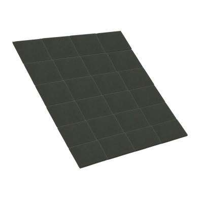 1 in. Adhesive Magnetic Squares (24-Piece per Pack)