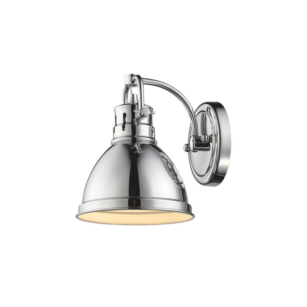 Golden Lighting Sconces Lighting The Home Depot - Home depot bathroom lighting sconces