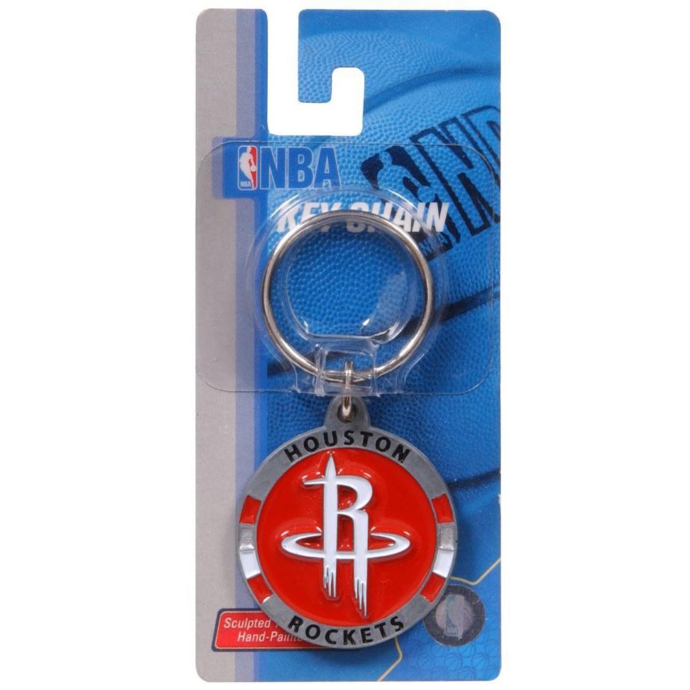 The Hillman Group NBA Houston Rockets Key Chain (3-Pack)