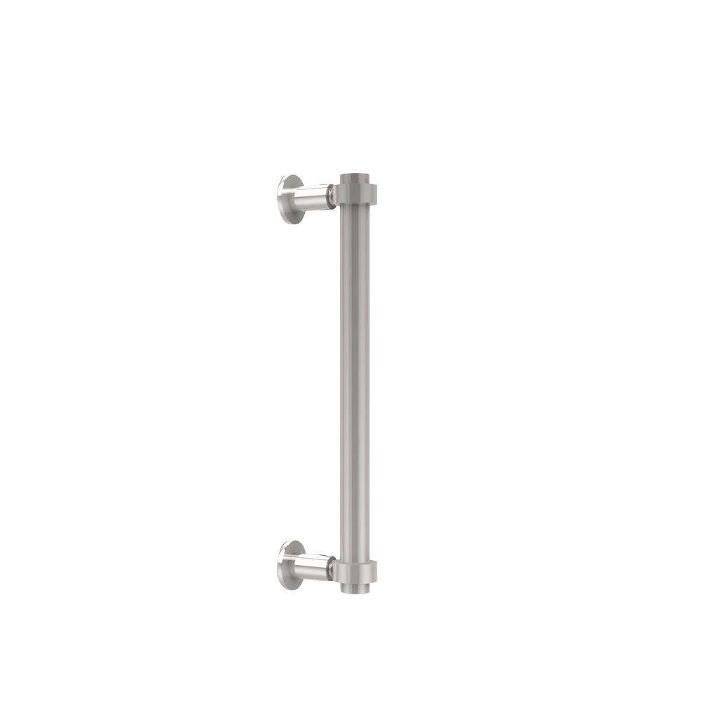 Contemporary 12 in. Back to Back Shower Door Pull in Polished
