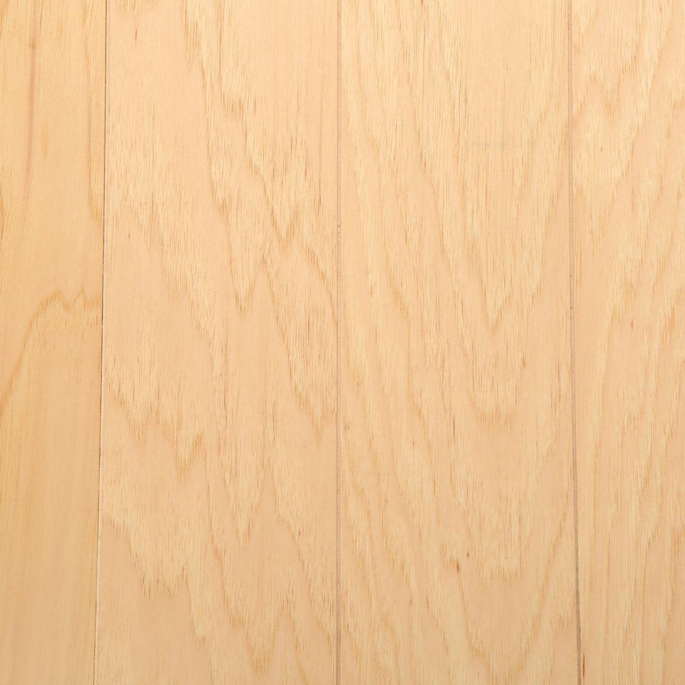Bruce Hickory Rustic Natural 3/8 in. Thick x 5 in. Wide x Varying Length Click-Lock Hardwood Flooring (22 sq. ft. / case)
