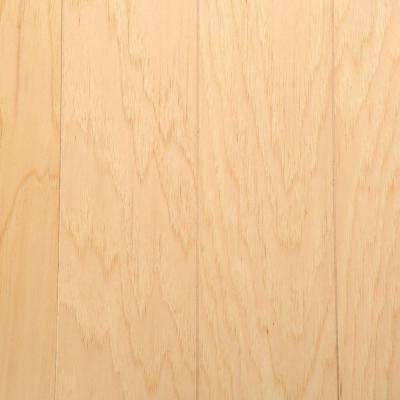 Hickory Rustic Natural 3/8 in. Thick x 5 in. Wide x Varying Length Click-Lock Hardwood Flooring (22 sq. ft. / case)