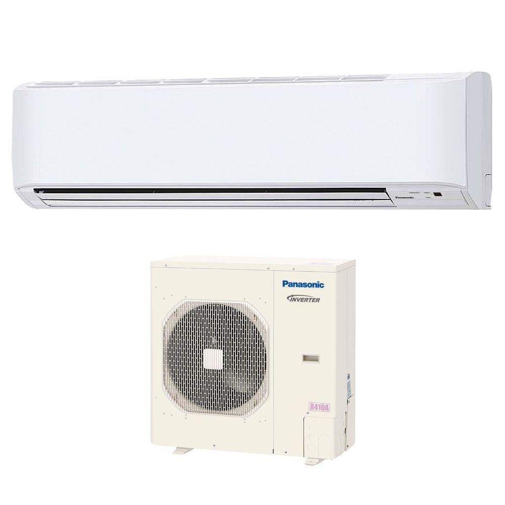 Panasonic 36 000 btu 3 ton ductless mini split air for Ductless ac