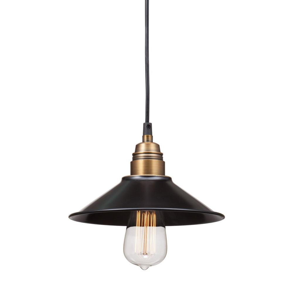 Zuo Amarillite Antique Black Gold And Brass Ceiling Lamp