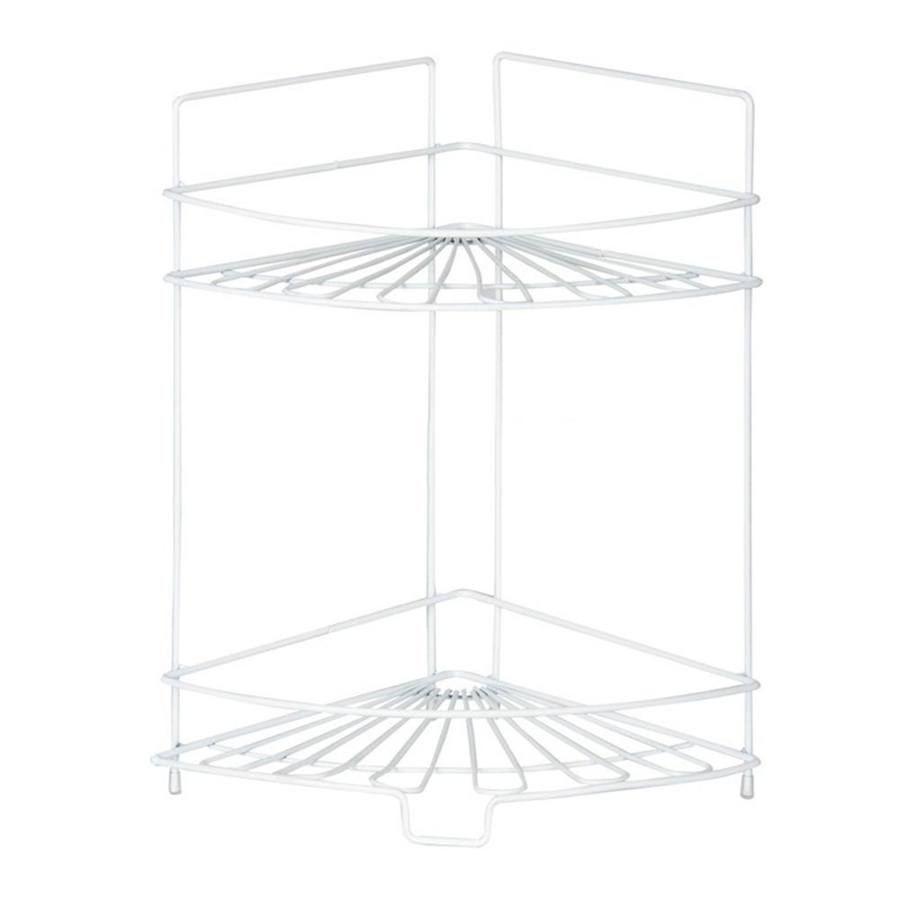 Furinno Balmain 2-Shelf Metal Kitchen Corner Shelf FNBJ-22139