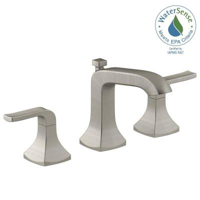 Rubicon Collection In Brushed Nickel Bath The Home Depot - Kohler bathroom faucet collections
