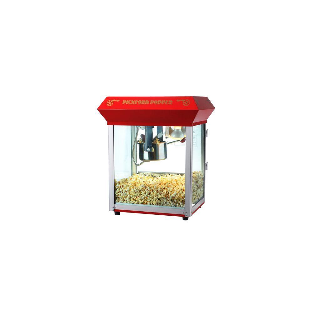 Great Northern Pickford 4 oz  Antique Red Countertop Popcorn Machine