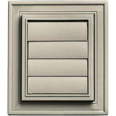 Square Exhaust Siding Vent #089-Champagne