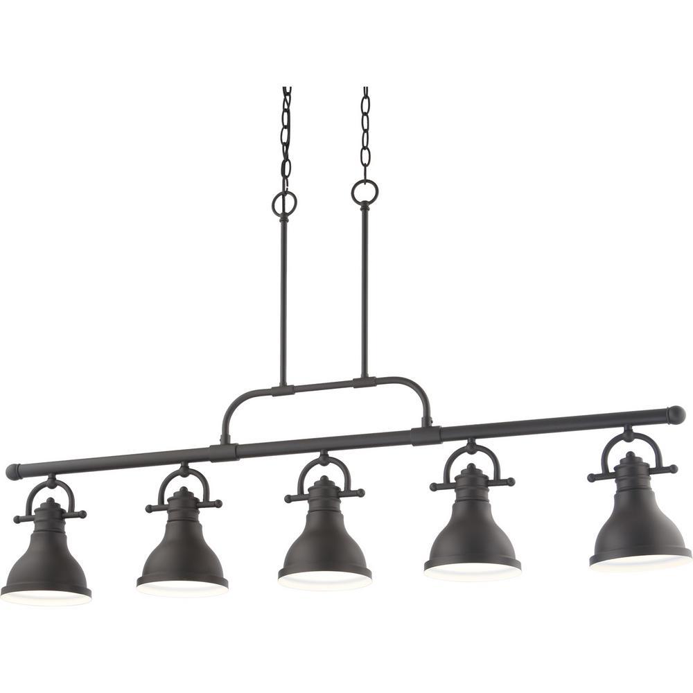 Volume Lighting 5-Light Integrated LED Indoor Foundry