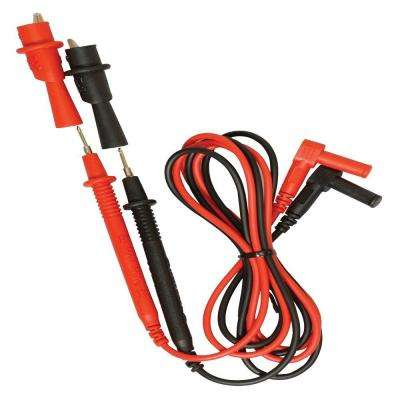 Test Leads with Screw Off Alligator Clips