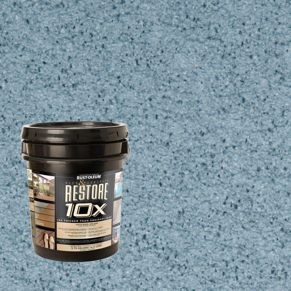 Rust-Oleum Restore 4-gal. Porch Deck and Concrete 10X Resurfacer