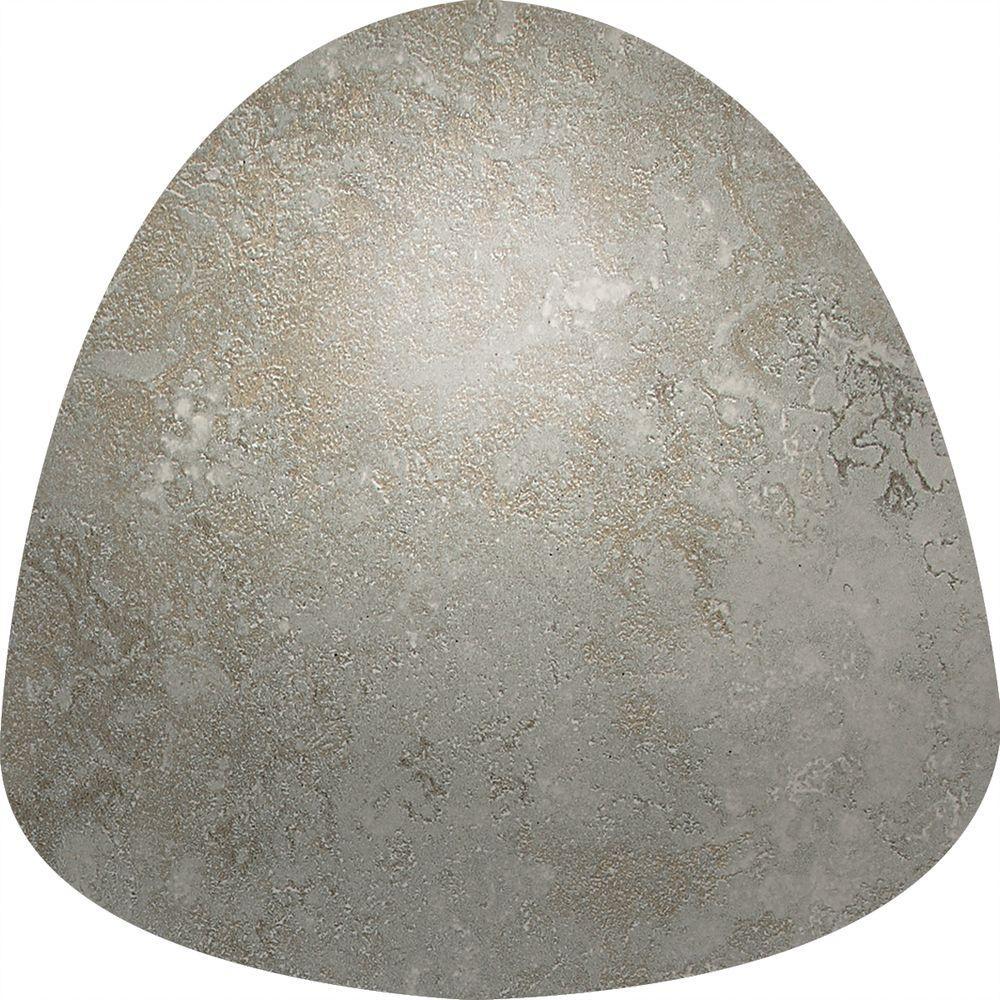 Sandalo Castillian Gray 1 in. x 1 in. Ceramic Quarter Round