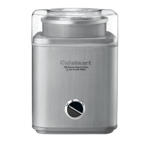 2 Qt. Stainless Steel Ice Cream Maker with Control Panel