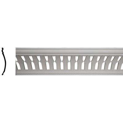 13-3/8 in. x 15-1/2 in. x 96 in. Polyurethane Melbourne with Bead Crown Moulding