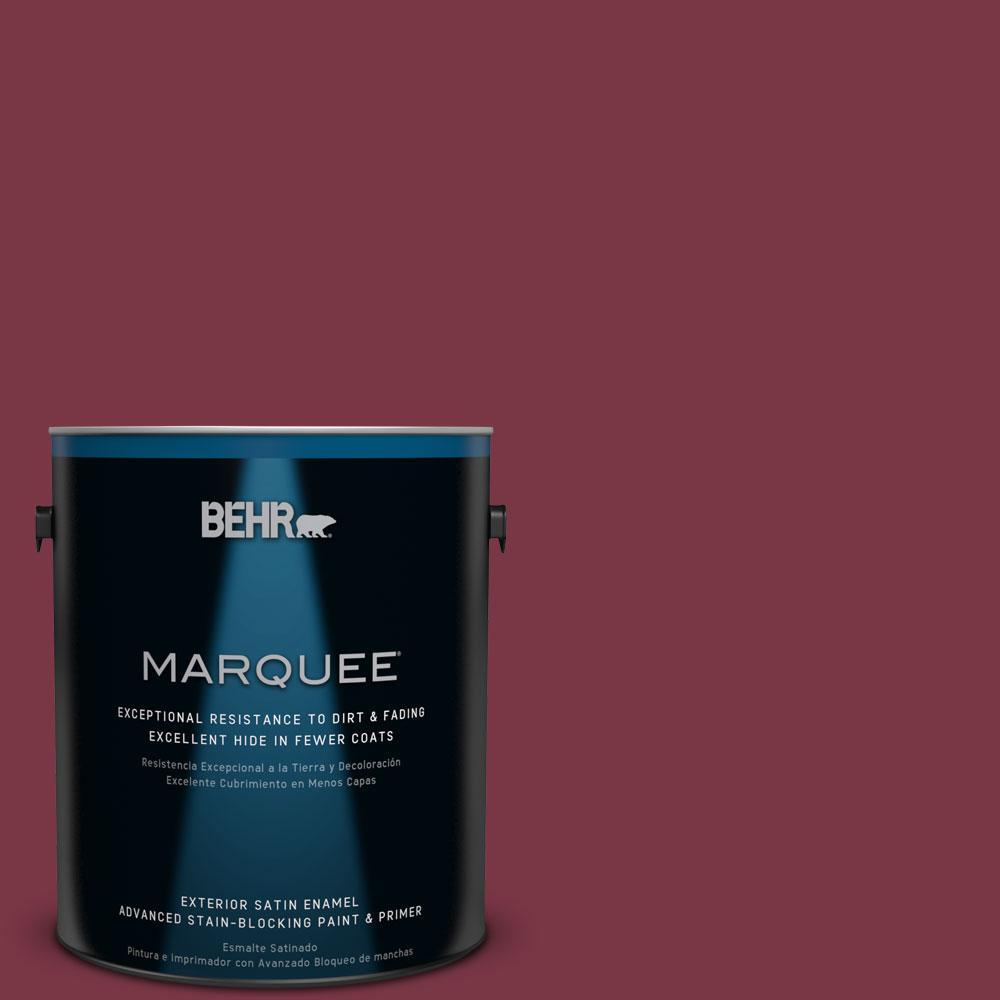 BEHR MARQUEE 1-gal. #S-H-110 Wine Tasting Satin Enamel Exterior Paint
