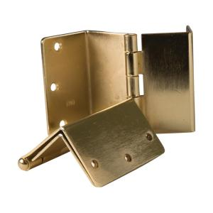Healthsmart Brass Expandable Door Hinge Pair 640 2006 0000