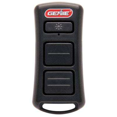 Illuminator 2-Button Garage Door Opener Remote with Bright LED Flashlight Built-In and Lanyard