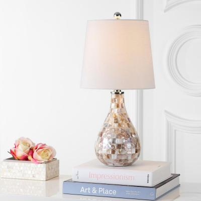 White Farmhouse Lamps Lighting The Home Depot