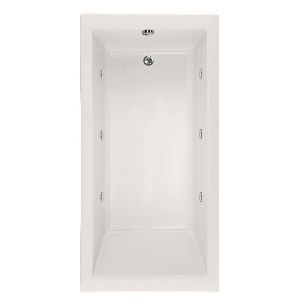 Hydro Systems Studio Lacey 5.5 ft. Whirlpool Tub with Reversible ...