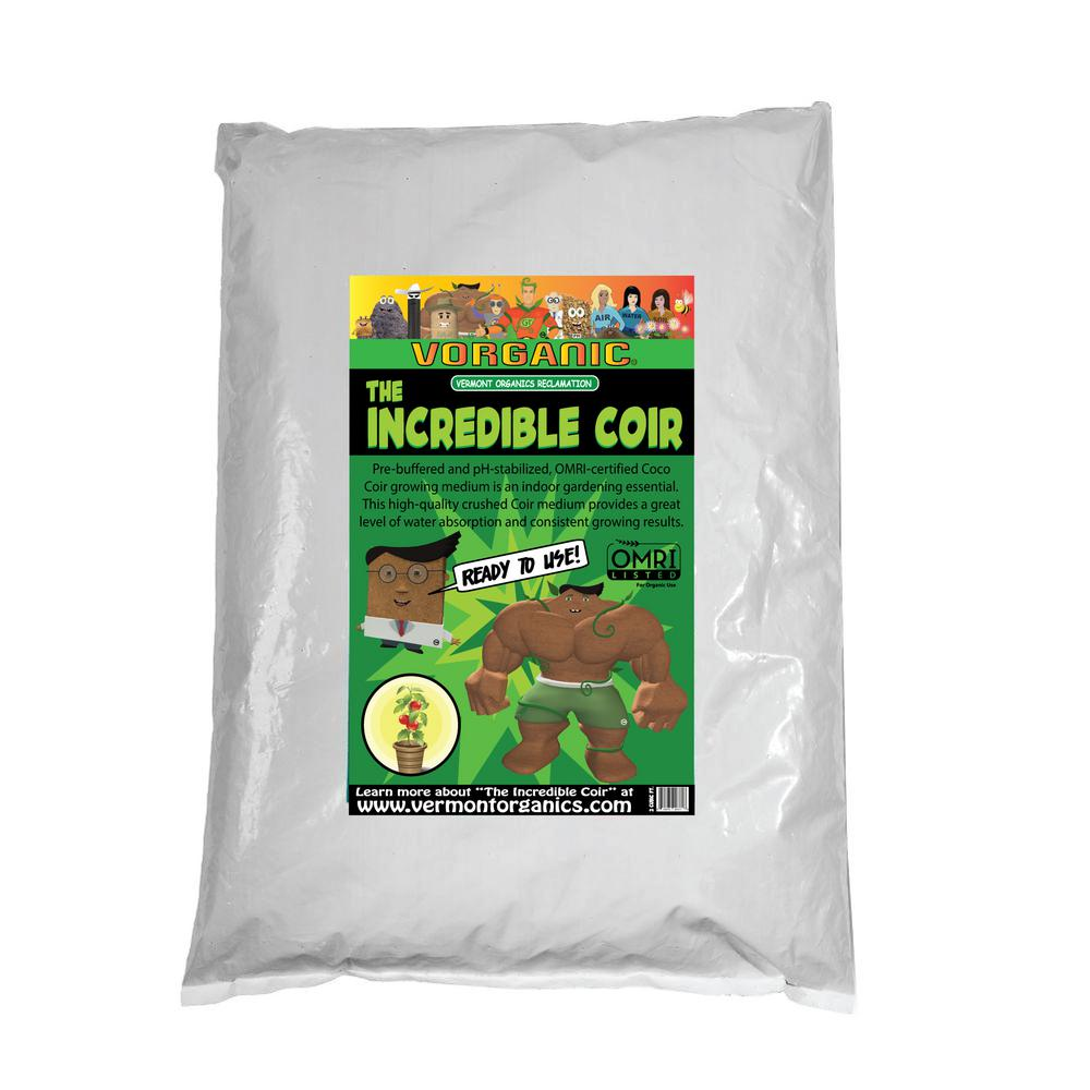 Vermont Organics Reclamation Soil 2 cu. ft. Incredible Coir Fluffed and Ready To Use
