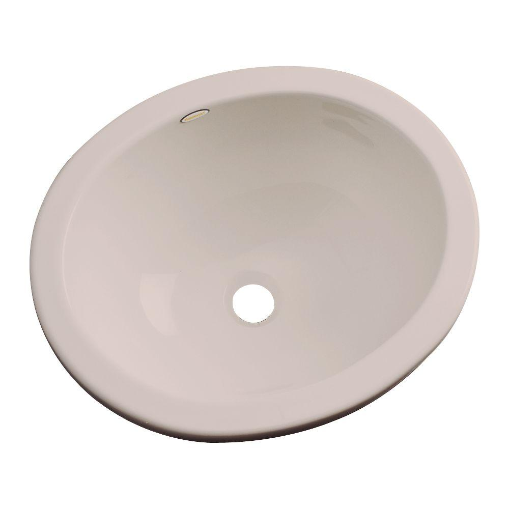 Caladesi Undermount Bathroom Sink in Fawn Beige