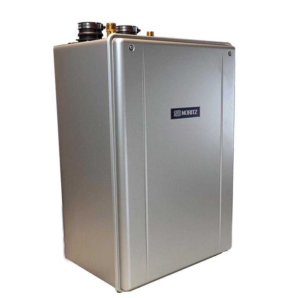 Noritz EZ Series 9.8 GPM Residential Liquid Propane Gas Hi-Efficiency Indoor/Outdoor Tankless Water Heater Wi-Fi Capable
