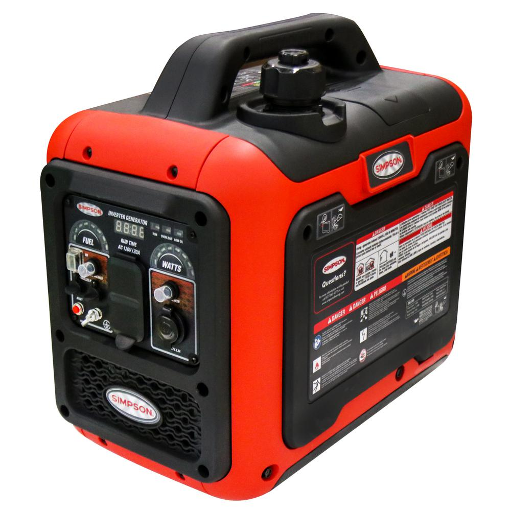 Simpson PowerShot Portable 1800-Watt Inverter Generator