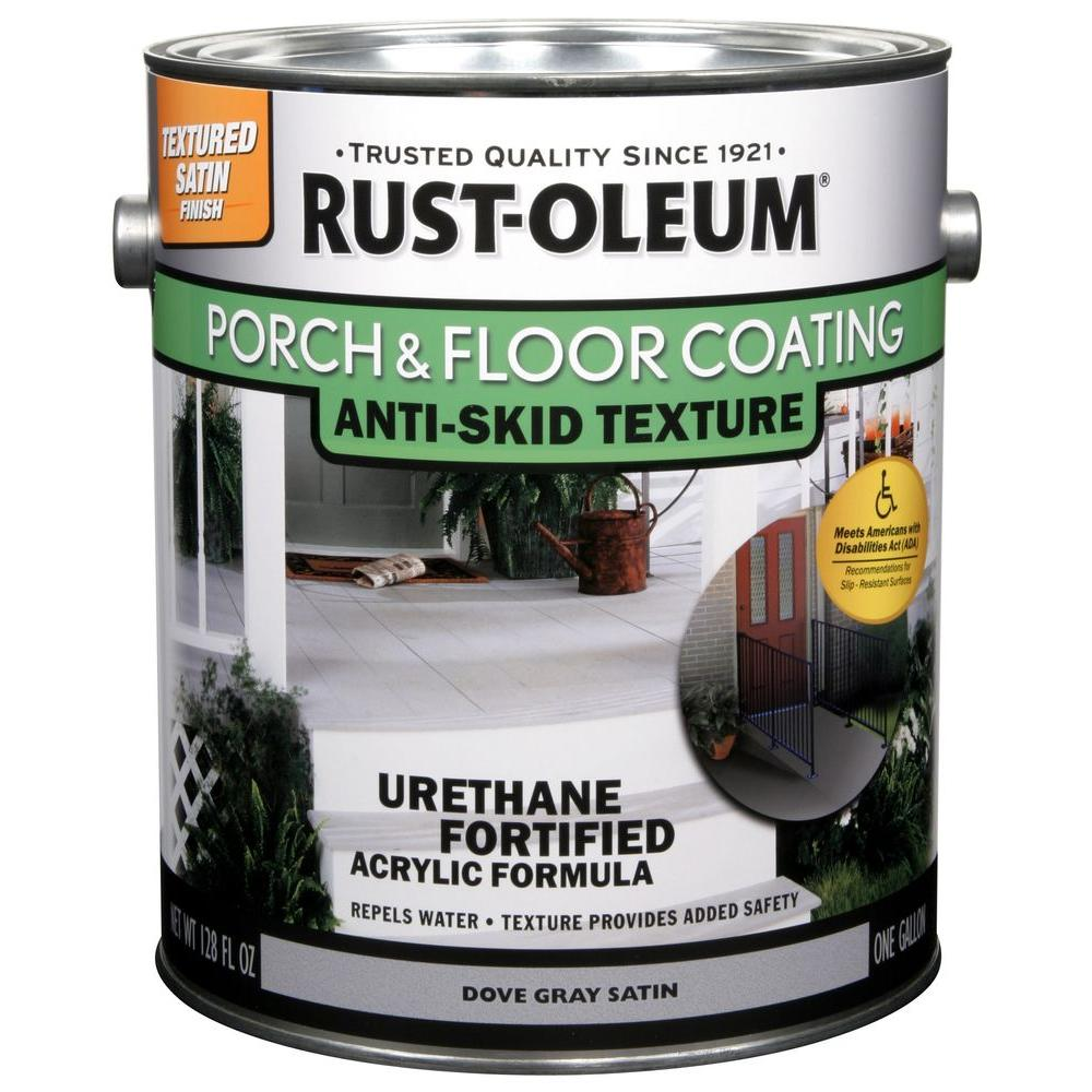1- gal. Dove Gray Anti-Skid Satin Exterior Solid Stain (Case of