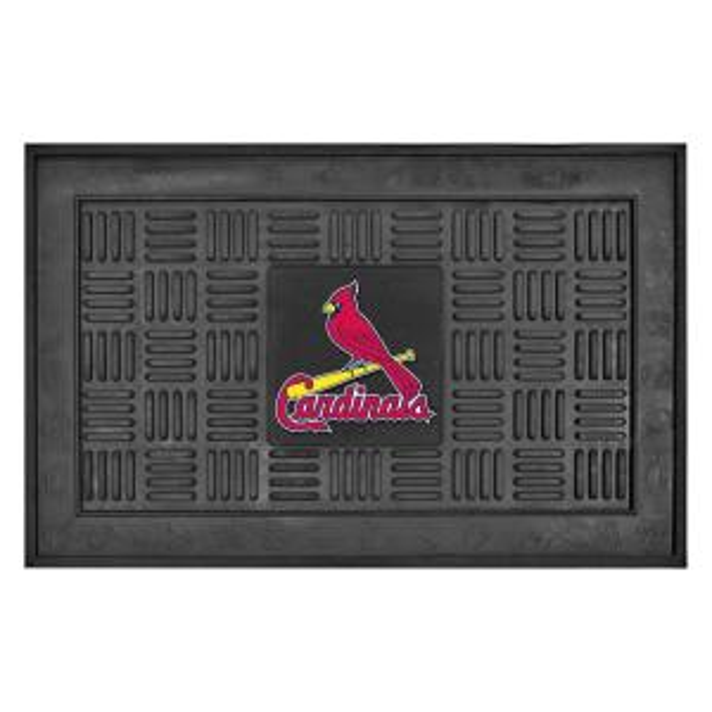 FANMATS St. Louis Cardinals 18 inch x 30 inch Door Mat by FANMATS