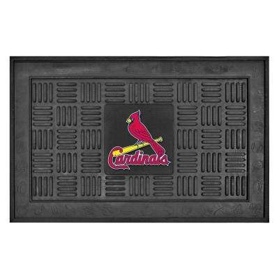St. Louis Cardinals 18 in. x 30 in. Door Mat