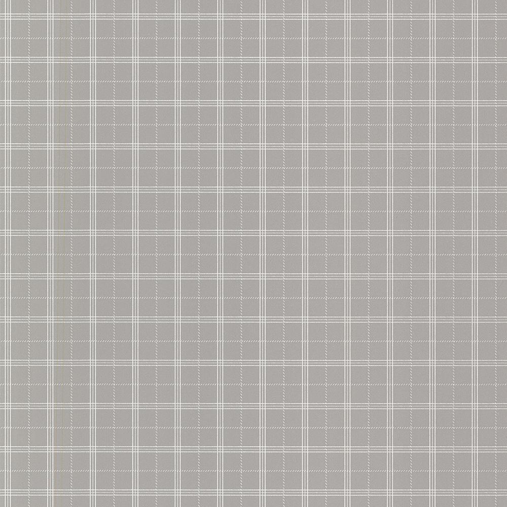 beacon house meridian grey nautical plaid wallpaper sample 2604