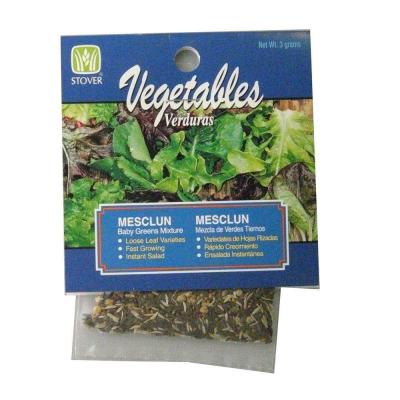 Lettuce Mesclun Baby Greens Mix Seed